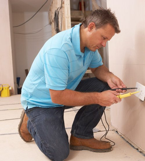 Volt Electric USA Contractor At Work