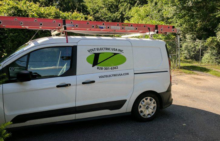 Volt Electric USA Electricians Van